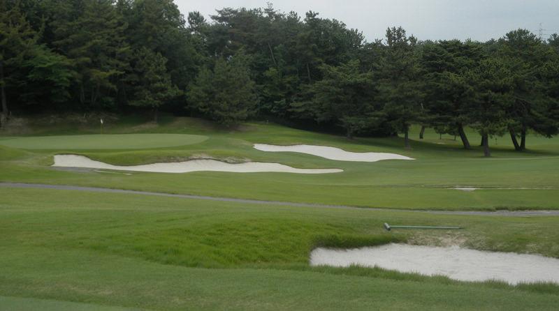 ゴルフコース風景