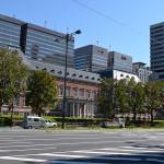 千代田区霞が関にある「法務省旧本館」周辺を運転代行