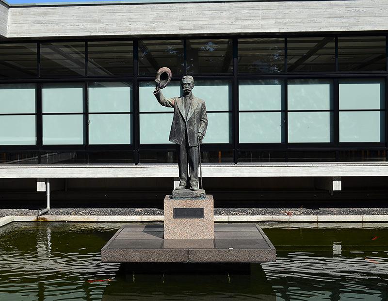 尾崎行雄の銅像