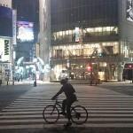 夜の代行時に渋谷のQFRONTを通過