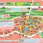 近所のコンビニで「深大寺そば組合加盟店マップ」をゲット