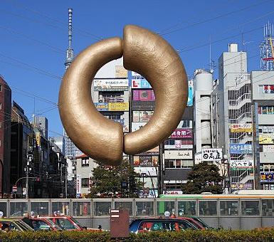 錦糸町駅北口から見える東京スカイツリー