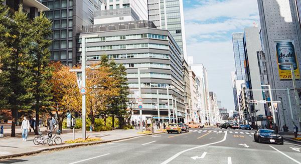 東京都心の幹線道路